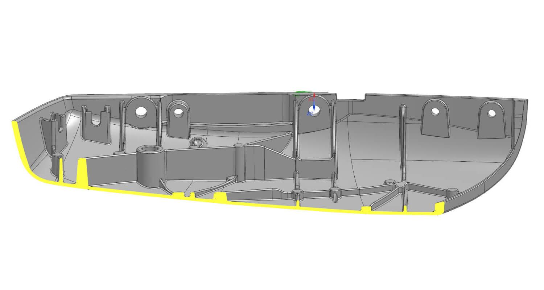 Industrializzazione stampi modellazione stampi alluminio for Layout di seminterrato finito